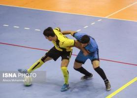 پیروزی فرش آرا و سوهان قم در هفته ششم لیگ فوتسال