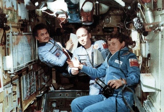 داستان دومین زن فضانورد جهان