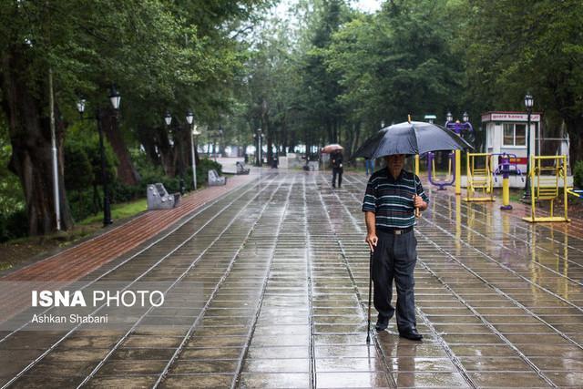 بارش خفیف در شمال کشور، خیزش گرد و خاک در جنوب ایران