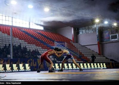 پیروزی تیم کشتی آزاد ایران در جام الروسا روسیه