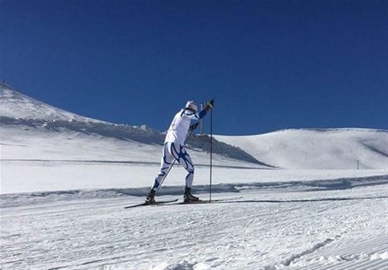 شروع لیگ اسکی صحرانوردی با درخشش صید و بیرامی