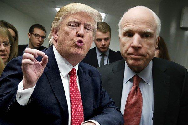 ترامپ به سناتور مُرده هم رحم نکرد