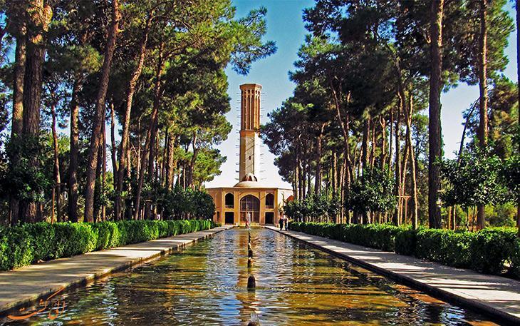 باغ جهانی دولت آباد پایلوت گردشگری الکترونیک می گردد