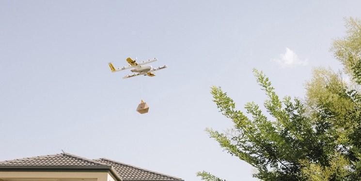 هواپیمای خودران گوگل غذا و نوشیدنی ارسال می نماید