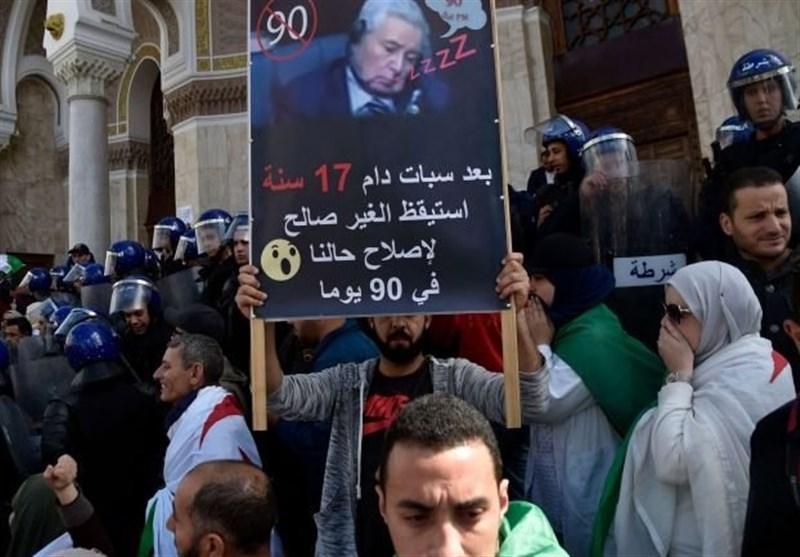 مخالفت 8 حزب الجزایری با ادامه حکومت بن صالح