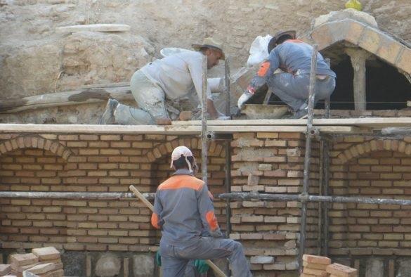 عملیات مرمتی مجموعه حسن پادشاه تبریز تا نوروز به سرانجام می رسد