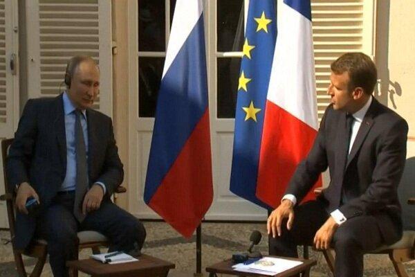 ماکرون: جی 7 درباره بازگشت روسیه به اجماع نظر نرسید