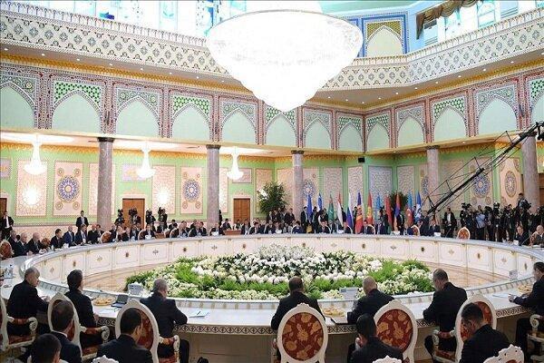 نشست مسئولین نظامی اتحادیه کشورهای مشترک المنافع در دوشنبه