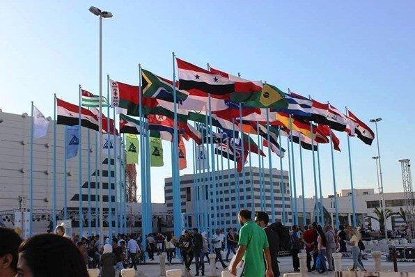 کوشش های آمریکا برای به تعطیلی کشاندن نمایشگاه بین المللی دمشق