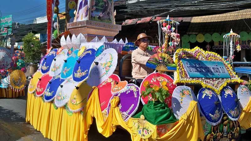 بوسانگ، شهر چترها و رنگ ها