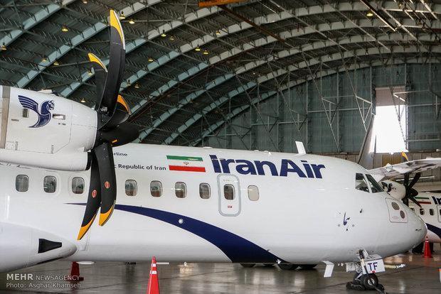 ایران 8 فروند هواپیمای ای تی آر تحویل می گیرد
