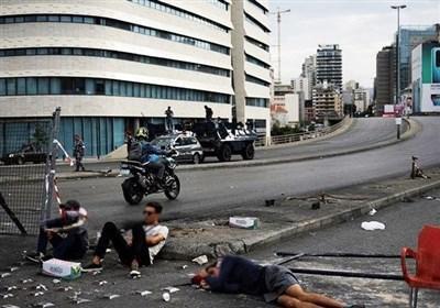 منابع اقتصادی خطرناک تحرکات در لبنان ، حمایت اقتصادی امارات و عربستان برای سوء استفاده از اعتراضات