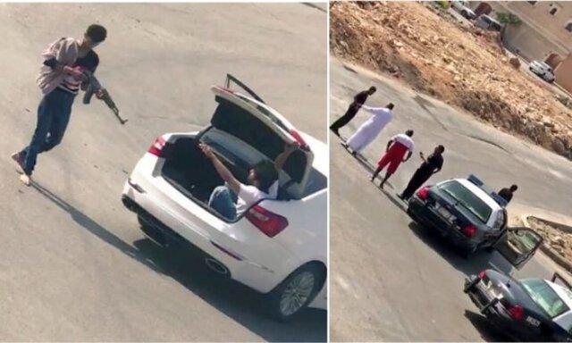 آدم ربایی مسلحانه در عربستان