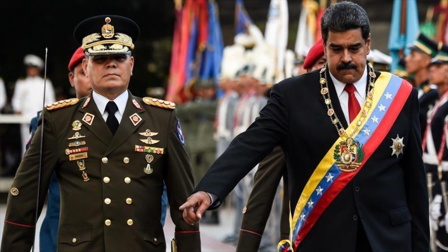 نظامیان ونزوئلا بر وفاداری به مادورو تاکید کردند