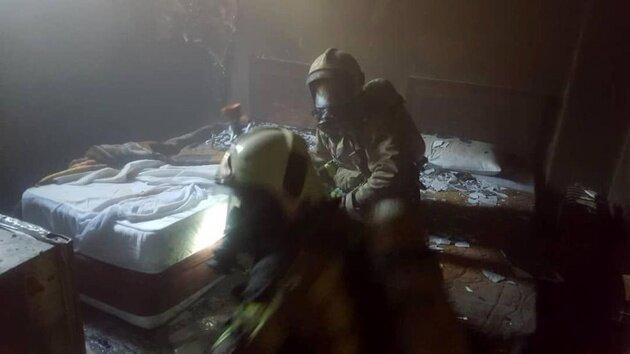 آتش سرگردان در جان هتل ها