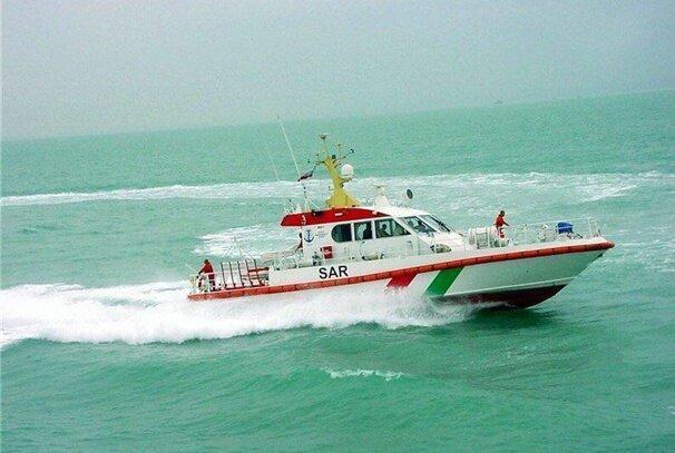 لنج باری در خلیج فارس غرق شد ، نجات 5 خدمه از غرق شدگی