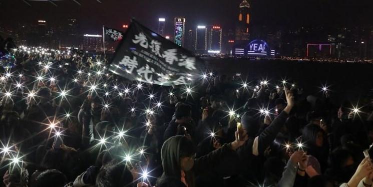 معترضان هنگ کنگی به دنبال ادامه اعتراضات در سال نو میلادی