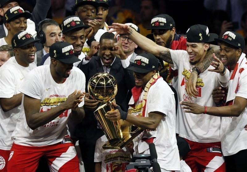 تورنتو برای نخستین بار قهرمان NBA شد