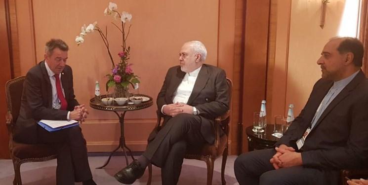 دیدار رئیس کمیته بین المللی صلیب سرخ با ظریف