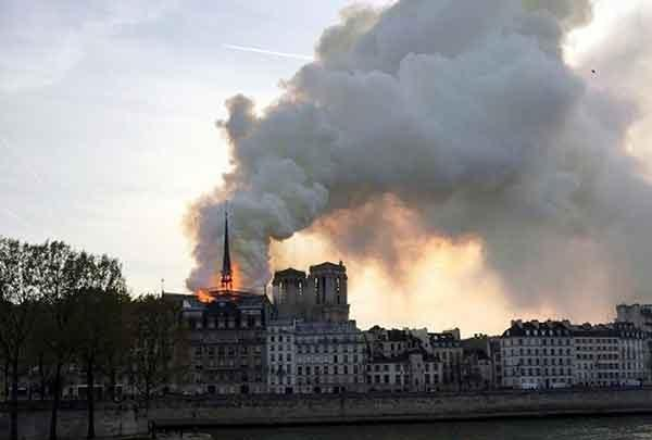 قرنطینه پاریس مشکل بازسازی نتردام را دوچندان کرد