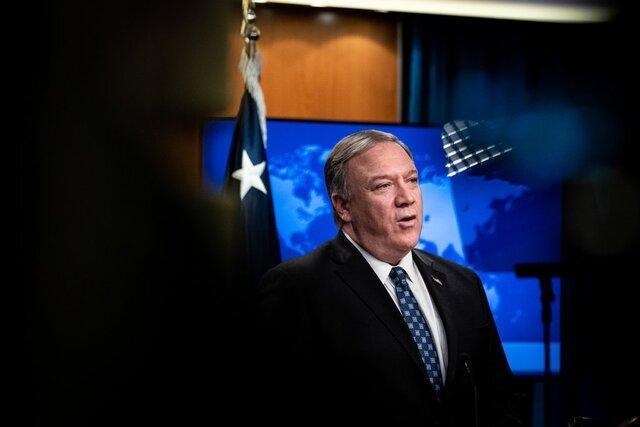 گفت وگوی پمپئو با وزرای خارجه قطر، کویت و امارات درباره ایران