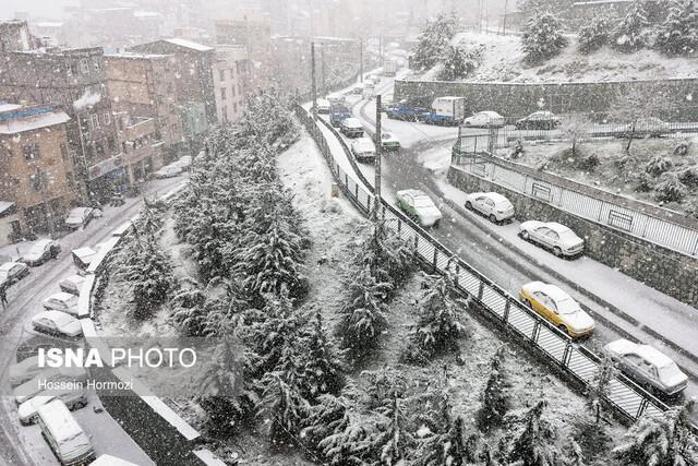 گزارش اولیه مدیریت بحران از خسارات سرما و بارندگی در کشور