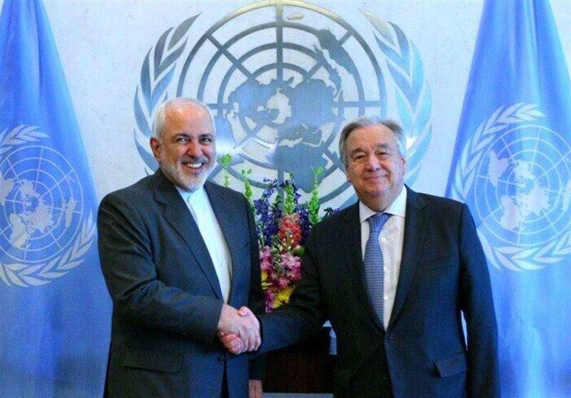 دومین تماس مجدد ظریف در 24 ساعت گذشته با دبیر کل سازمان ملل