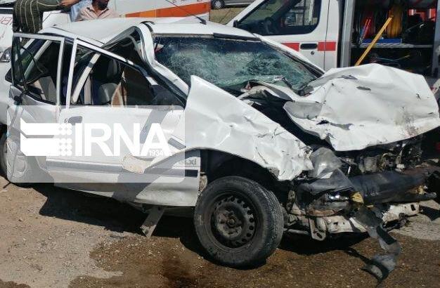 خبرنگاران سانحه رانندگی در جوین چهار مصدوم داشت