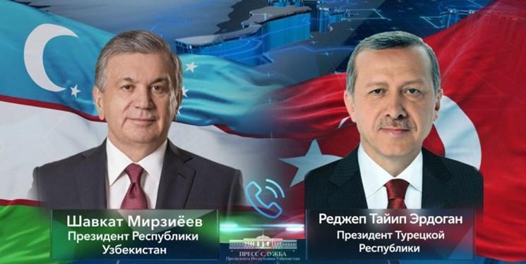کرونا محور گفت وگوی تلفنی رؤسای جمهور ازبکستان و ترکیه