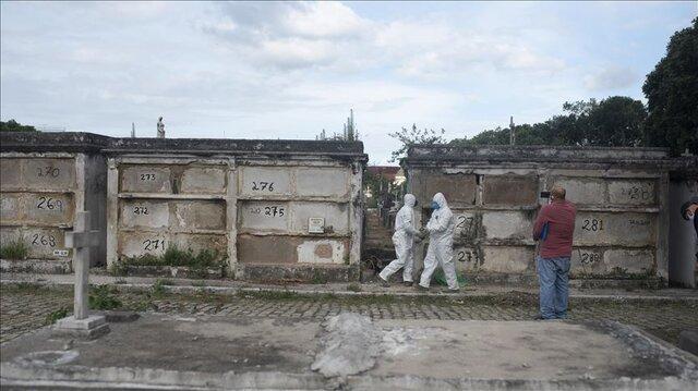 آمار قربانیان کرونا در آمریکای لاتین