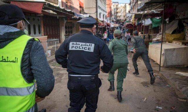 احضار 50 هزار مراکشی به دادگاه به اتهام نقض قرنطینه