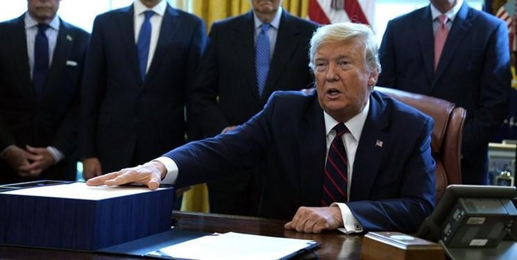 کارزار انتخاباتی ترامپ به پسران او پول می دهد!