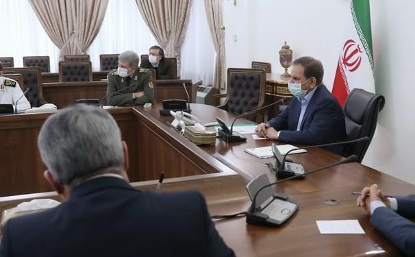 تشکیل جلسه ادغام بانک های نیرو های مسلح به ریاست جهانگیری