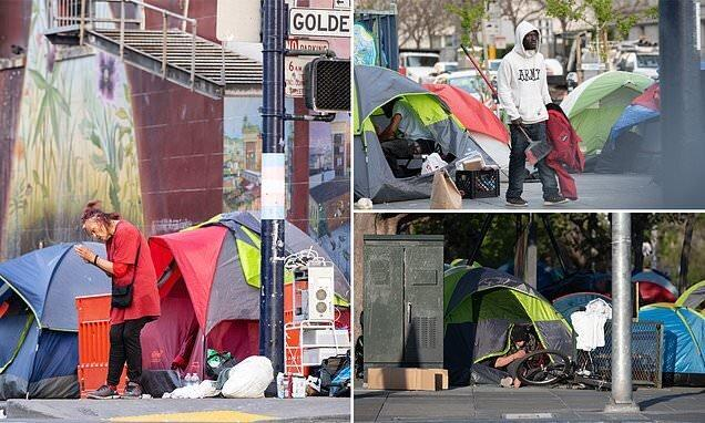 بی خانمان های سانفرانسیسکو 300 درصد افزایش یافته