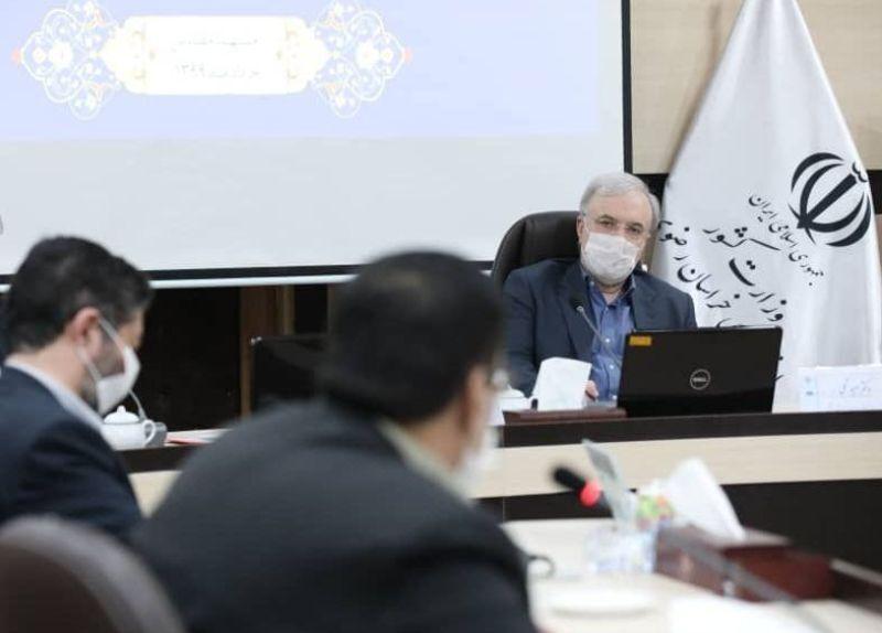 خبرنگاران معین ساعات بازگشایی حرم مطهر رضوی به استان واگذار شد