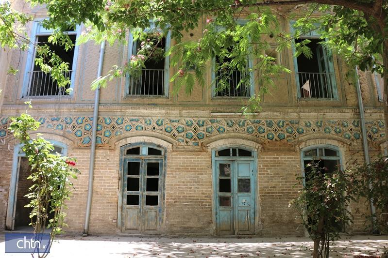 خانه غفوری نگین معماری قاجاری در محله عیدگاه مشهد