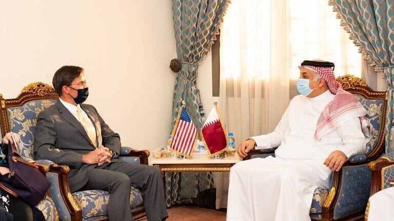 خبرنگاران سفر وزیر دفاع آمریکا به قطر و کویت