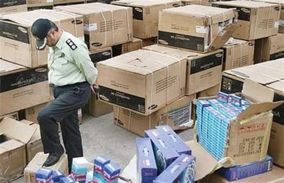 کشف 4 میلیارد کالای قاچاق در تهران