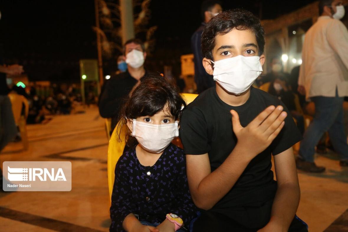 خبرنگاران ندای یاحسین (ع) در شب عاشورای حسینی در هرمزگان