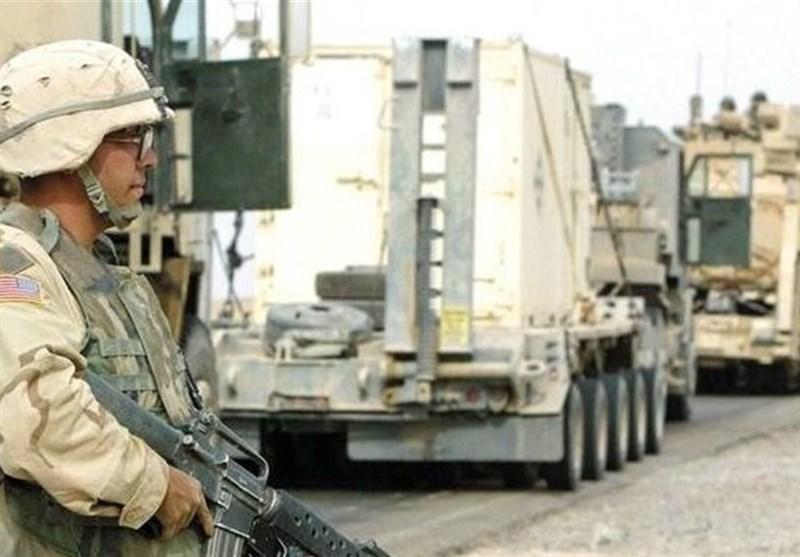 عراق، هدف قرارگرفتن خودروهای نظامیان آمریکایی در صلاح الدین