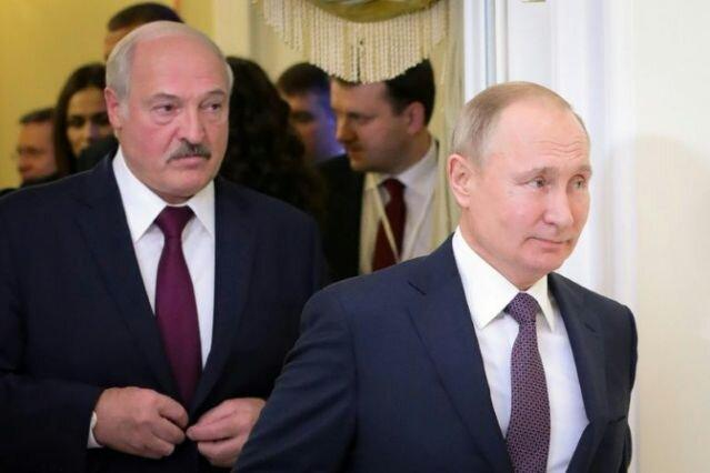 دیدار لوکاشنکو و پوتین در سوچی