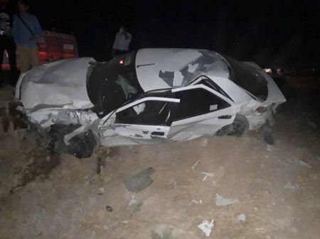 خبرنگاران تعداد فوتی های تصادف محور دهدشت - سوق به 5 نفر افزایش یافت