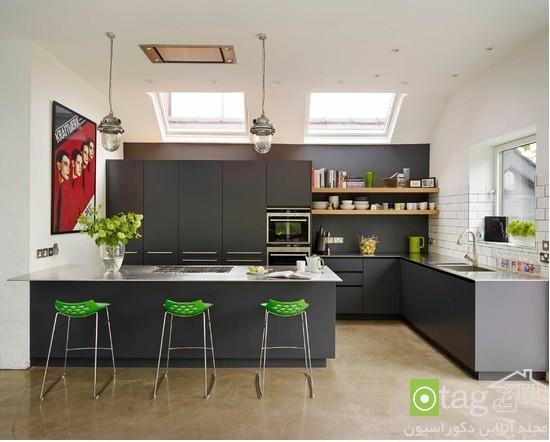 مدل جدید جایگاه اپن آشپزخانه در طراحی مدرن و شیک امروزی