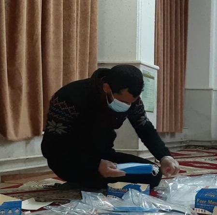توزیع 100 بسته اقلام بهداشتی در خوابگاه های دانشگاه علوم پزشکی یاسوج