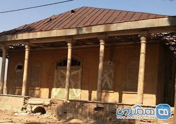 آغاز بازسازی عمارت فخرالدوله زیر نظر کارشناسان میراث فرهنگی