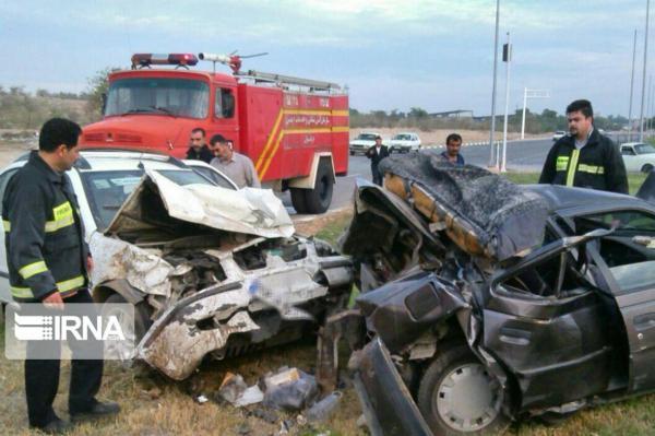 خبرنگاران تصادف سه خودرو در دهلران 9 مصدوم و یک فوتی بجا گذاشت