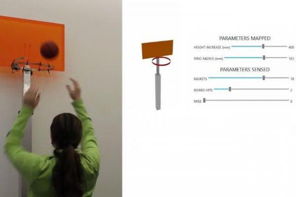 حلقه بسکتبال هوشمند ساخته شد