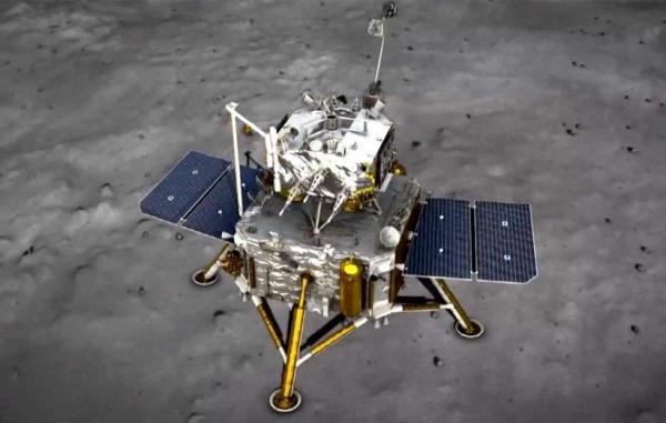کاوشگر چانگای 5 چین برای نمونهبرداری با موفقیت بر سطح ماه فرود آمد