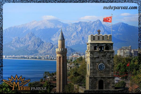 چگونه سفری ارزان به آنتالیا ترکیه داشته باشیم