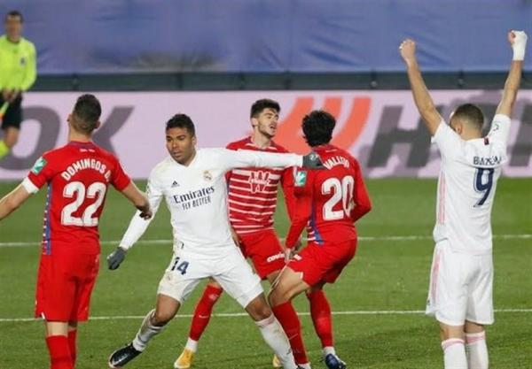 لالیگا، رئال مادرید دهمین پیروزی فصلش را در خانه گرانادا جشن گرفت